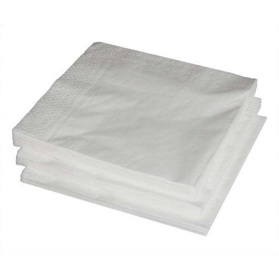 Wit thema wegwerp bordjes   Uitverkoop Warenhuis restanten