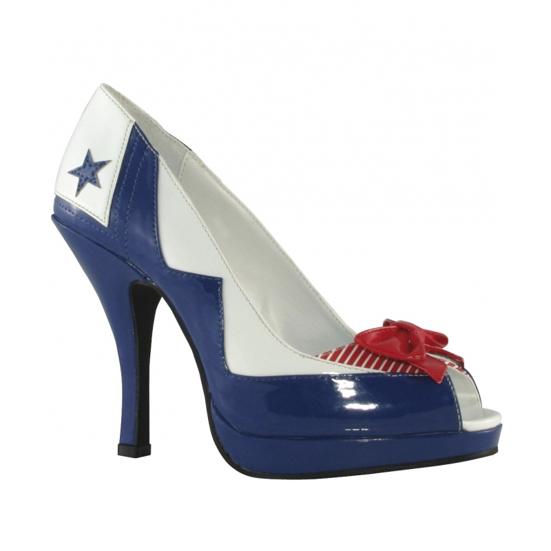 Carnaval Matrozen pumps voor dames