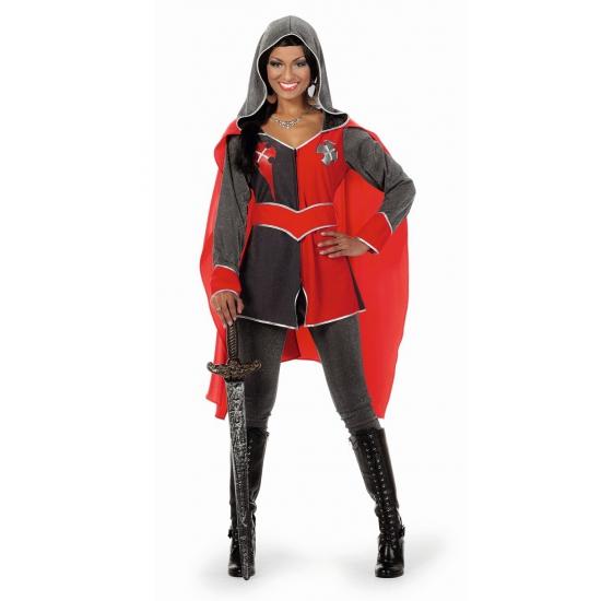 Carnavalskostuum Ridder kostuum dames Gwen