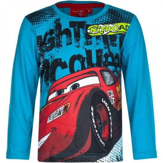 Cars t-shirt petrol blauw