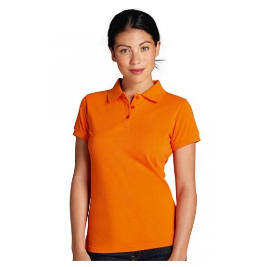 Dameskleding Oranje dames poloshirts