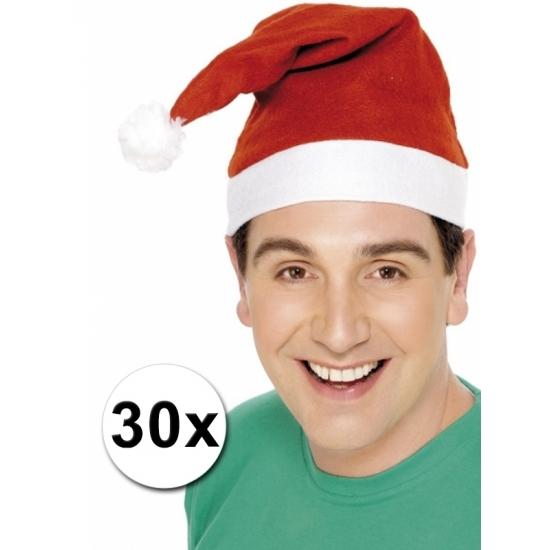 De goedkoopste kerstmutsen set van 30