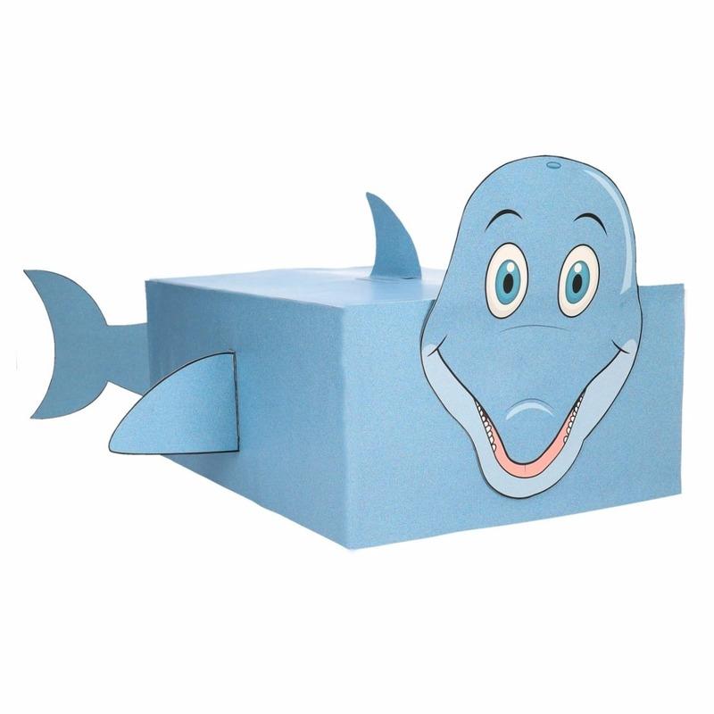 Dolfijn surpise bouwen voor kinderen
