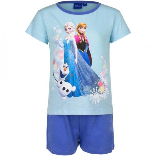 Frozen korte pyjama meisjes blauw