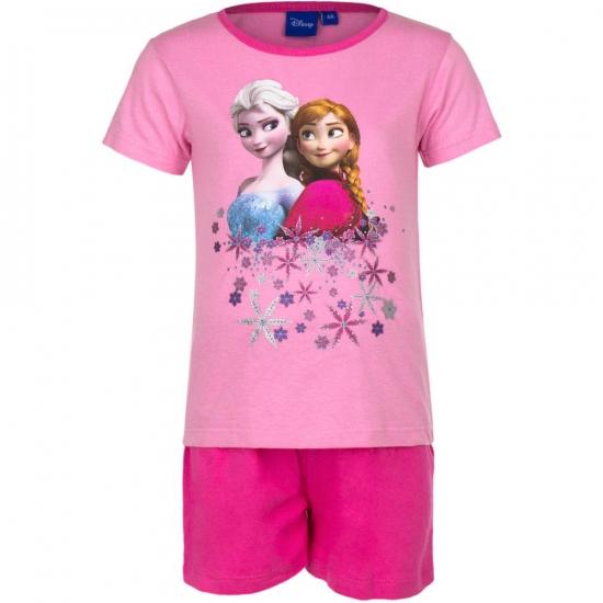Frozen korte pyjama meisjes roze