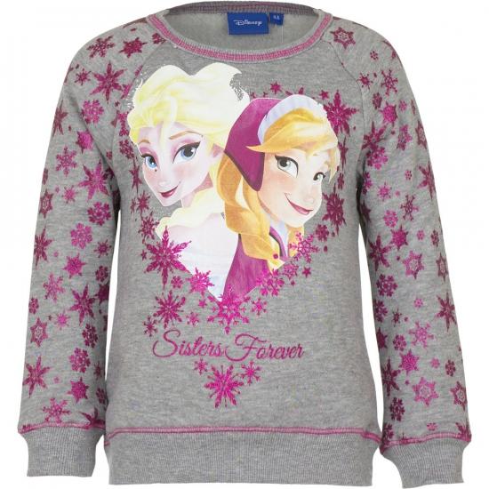 Frozen trui grijs voor meiden