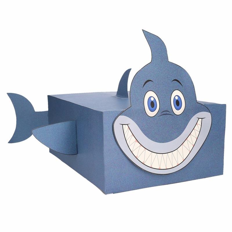 Haai surpise bouwen voor kinderen