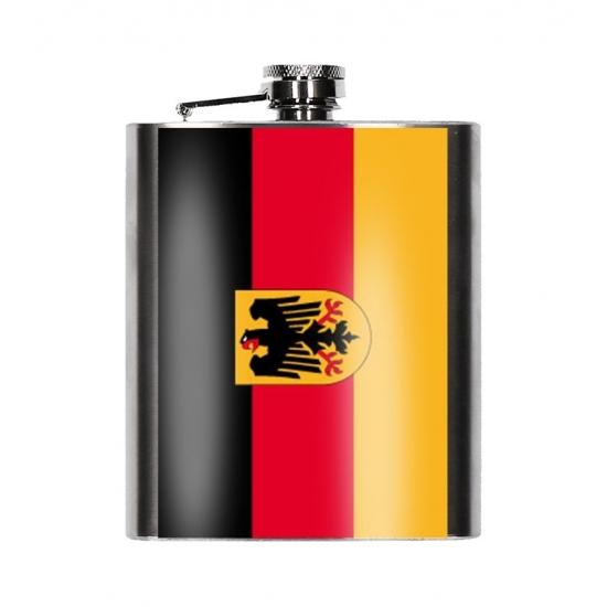 Heupfles Duitse vlag 200 ml
