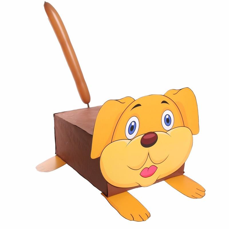 Hond surpise bouwen voor kinderen