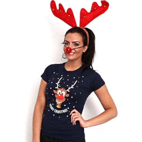 Kersttrui Uitverkoop.Kerst Kado Foute Kerst T Shirt Rendier Uitverkoop Warenhuis Restanten