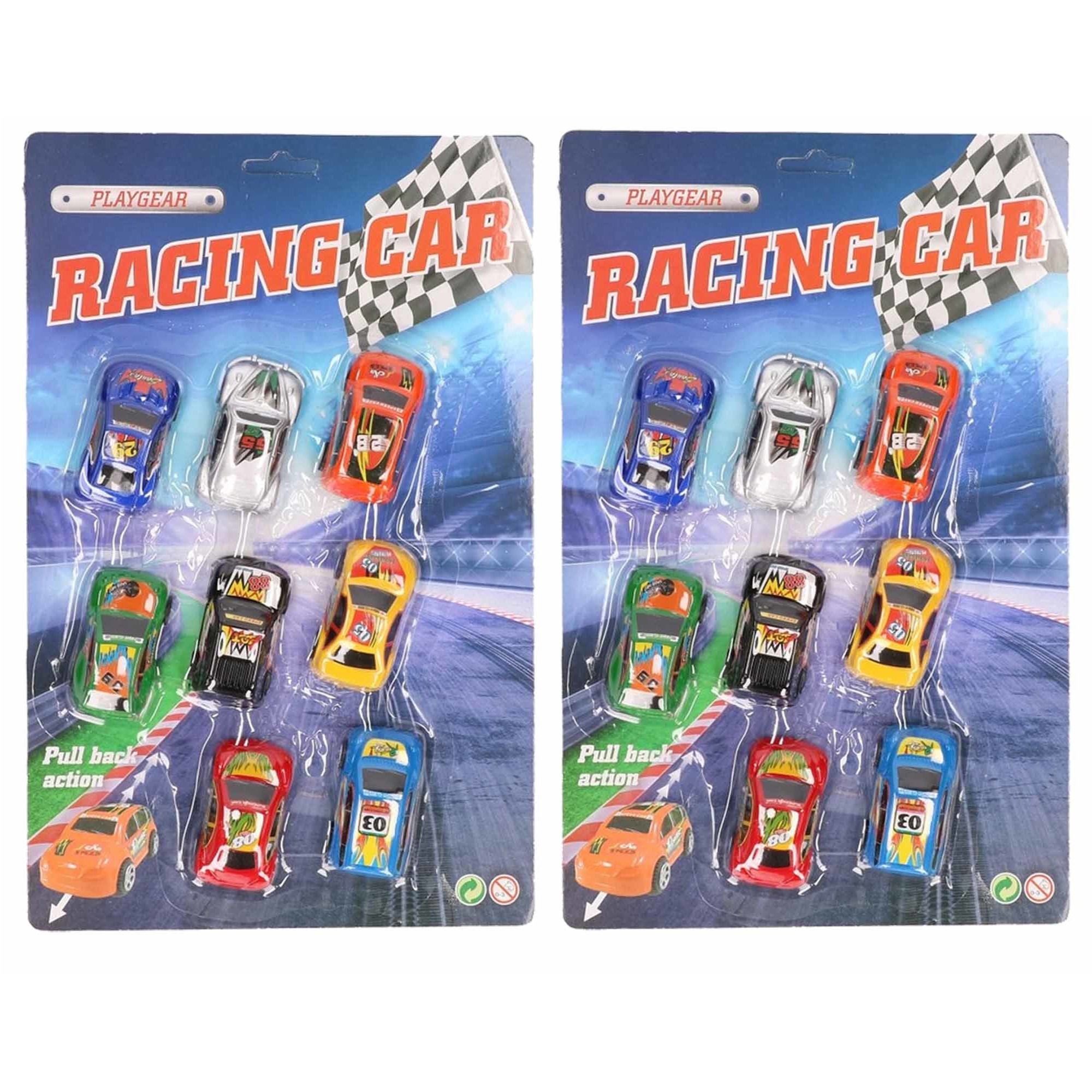 Kinder 16x race auto kado set