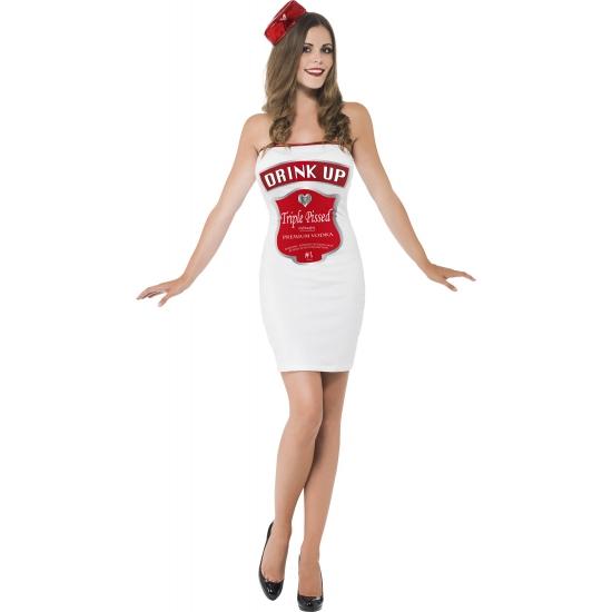Kostuums dames drink up wit