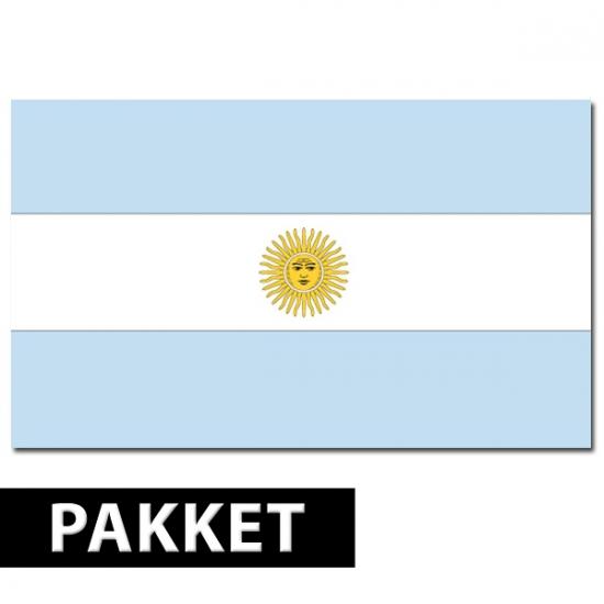 Landen Argentinie versiering pakket