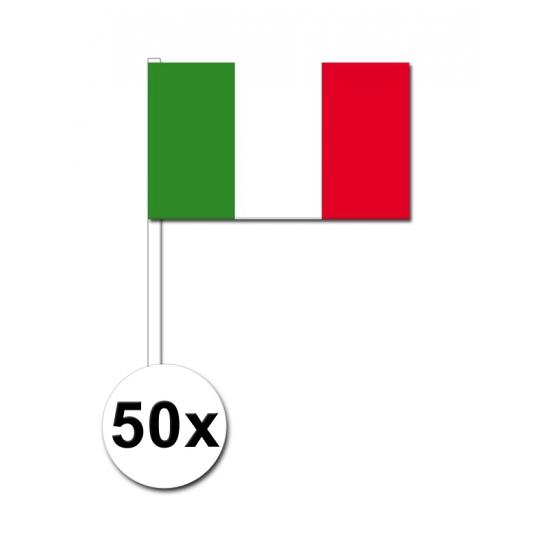 Landen Zwaaivlaggetjes Italie 50x