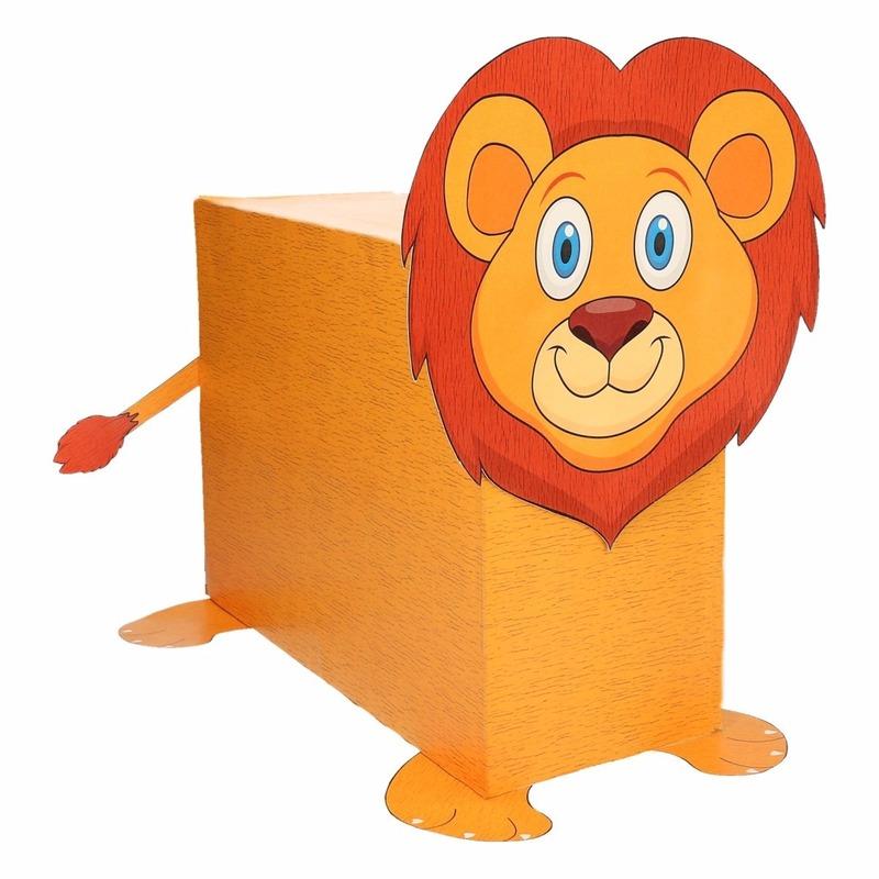Leeuw surpise bouwen voor kinderen