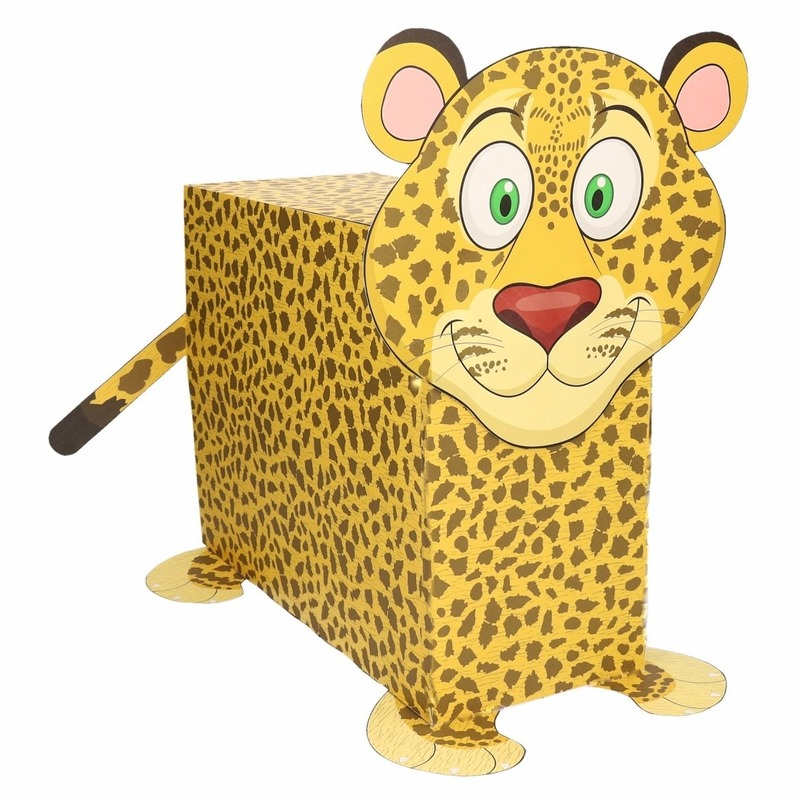 Luipaard surpise bouwen voor kinderen