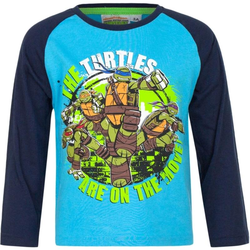 Ninja Turtles t-shirt blauw voor jongens