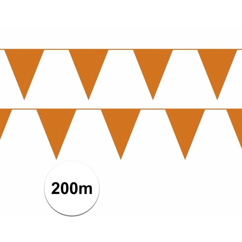 Oranje artikelen oranje vlaggenlijnen 20x