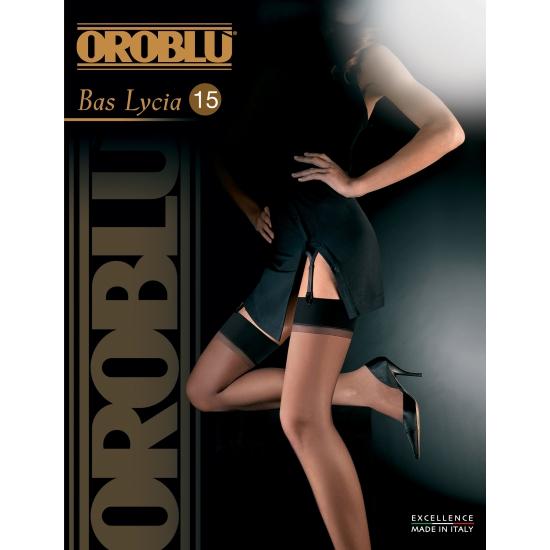 Oroblu hold up kousen 15 den zwart