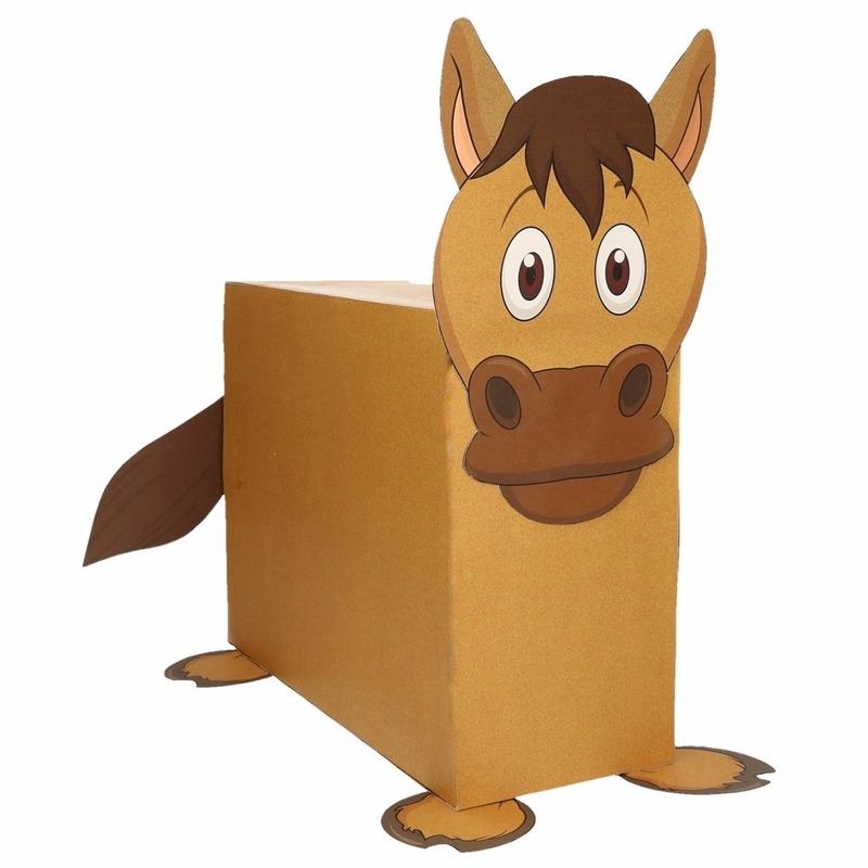 Paard surpise bouwen voor kinderen