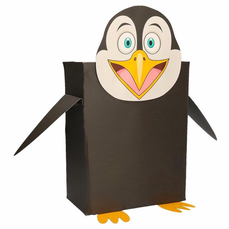 Pinguin surpise bouwen voor kinderen
