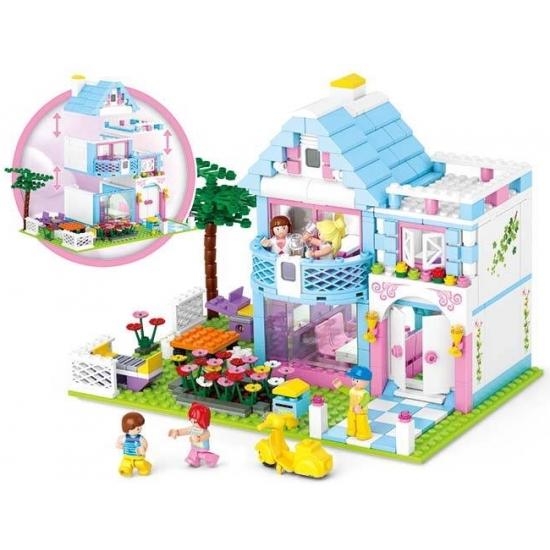 Sluban familie huis bouwset