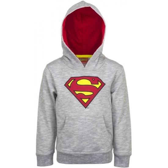 Superman capuchon sweater grijs voor jongens