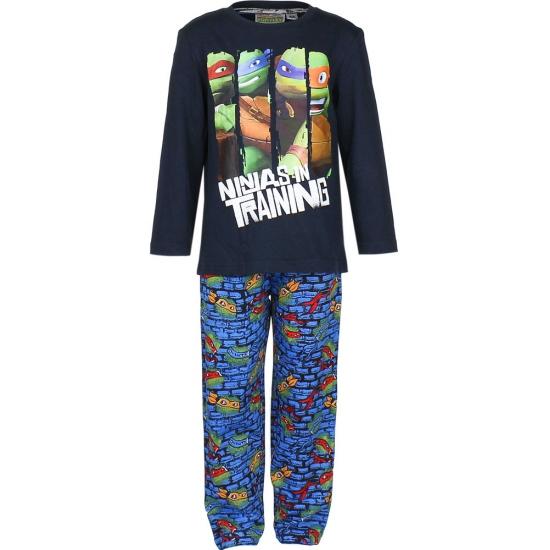 Turtles pyjama blauw