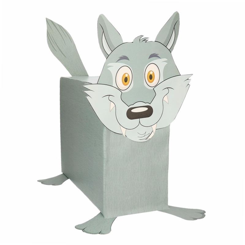 Wolf surpise bouwen voor kinderen