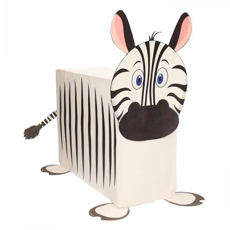 Zebra surpise bouwen voor kinderen