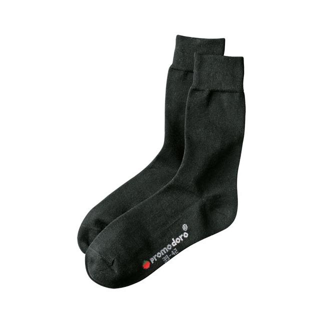 Zwarte nette sokken voor volwassenen